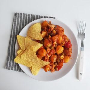 Vegan budget recept #2: Mexicaanse schotel met tortilla chips