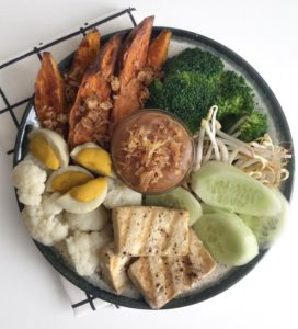 Vegan Gado Gado bowl