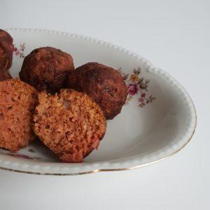 Vegan gehaktballen uit de airfryer