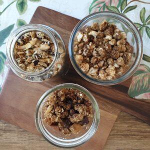 Vegan granola op 3 manieren + video