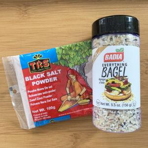 Vegan in de Aziatische supermarkt #6 - Everything but the bagel seasoning!