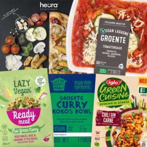 Vegan in de supermarkt #48: kant en klare maaltijden en salades