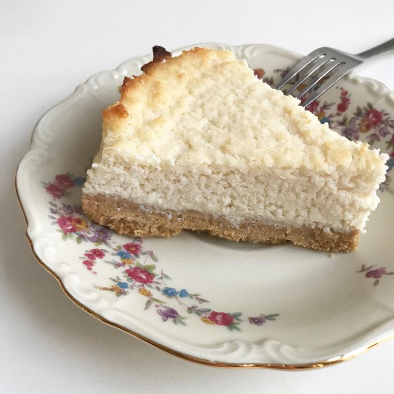 kokos cheesecake recept