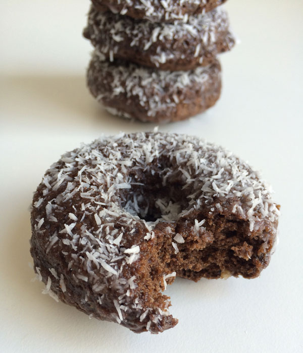 Vegan kokos donuts