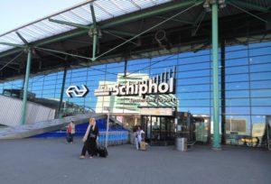 Vegan opties op Schiphol