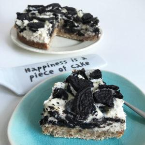 Vegan Oreo cheesecake - 2 manieren!