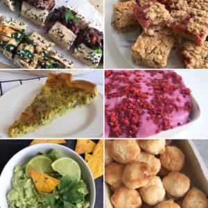 Kerstlunch of kerstdiner op school: lekkere vegan gerechtjes en snacks