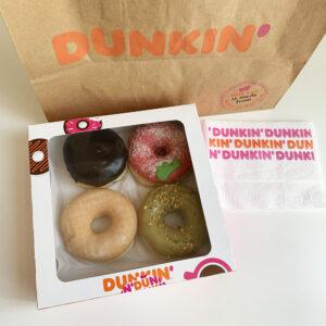 Vegan Taste Test #12: vegan donuts bij Dunkin' Donuts