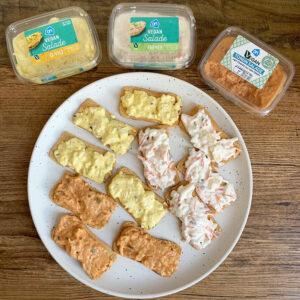 Vegan Taste Test #15: AH vegan eier- tonijn- en farmer salade
