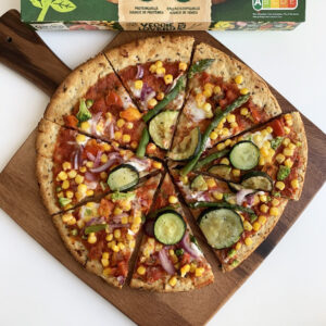 Vegan Taste Test #3: Garden Gourmet Veggie Lovers pizza