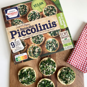 Vegan Taste Test #9: Wagner Piccolinis spinach creamy style