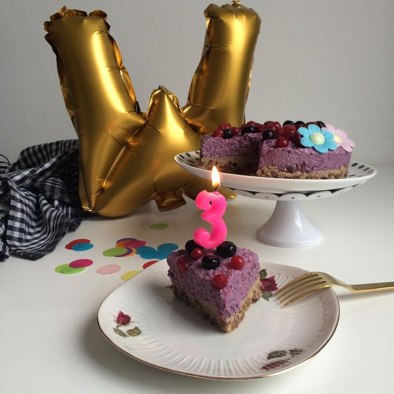 Wat eet je dan wel vierde op 21 augustus dit jaar haar derde verjaardag. Yay!